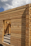 New wooden house Stock Photography