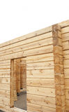 New wooden house Stock Photos