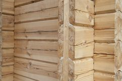 New wooden house Royalty Free Stock Images