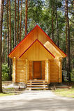 New wooden house Royalty Free Stock Photos