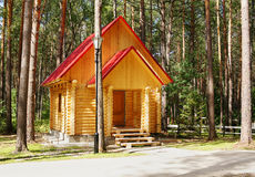 Free New Wooden House Made Of Logs Royalty Free Stock Photo - 23321575