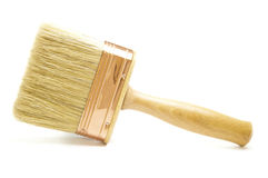 New Wooden Paintbrush Royalty Free Stock Photo