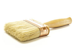 A New Wooden Paintbrush Stock Photo