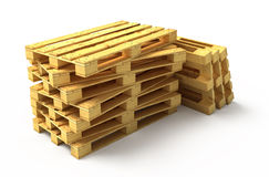 New wooden pallets Stock Photography