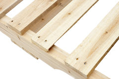 New wooden platforms Stock Image