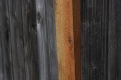 New Wooden Post Stock Image
