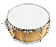 New wooden share drum isolated Royalty Free Stock Photography
