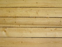 New wooden wall texture Stock Photography
