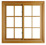 New Wooden window Stock Images