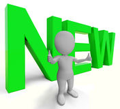 New Word Shows Promotion Or Introductory Offers. New Word Showing Promotion Or Introductory Offers Stock Images
