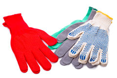 New working gloves Stock Photo