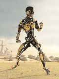 New World Mechanoid Stock Images