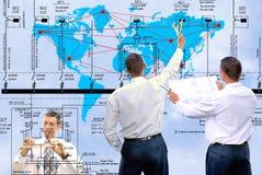 New world technology Stock Photo