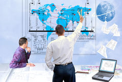 New world technology Royalty Free Stock Images