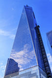 New World Trade Center Glass Building Skyscraper Reflection New Stock Photos