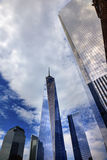 New World Trade Center Glass Skyscraper New York NY Stock Image