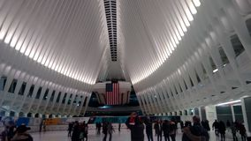 New  World Trade Center Station Royalty Free Stock Image