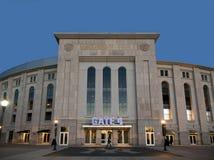 New Yankee Stadium at evening Stock Images