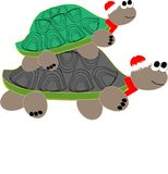 New yars's turtles Stock Images