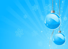 New Year�s baubles Royalty Free Stock Photos