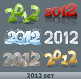 New year 1012 Royalty Free Stock Images