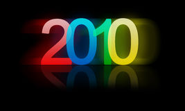 New year. Illustration of the new year Royalty Free Stock Image