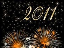New Year. Background -  illustration Royalty Free Stock Photography