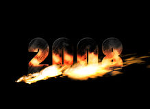 New Year 2008 Stock Image
