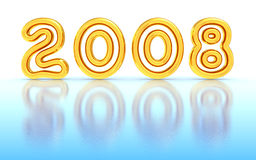 New Year 2008 Stock Photography
