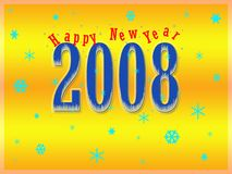 New Year 2008 Stock Images