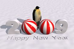 New year 2009. A 3d rendering to celebrate the new year 2009 vector illustration