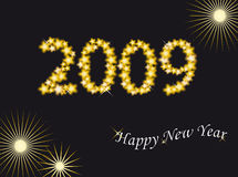 New year 2009 Stock Image