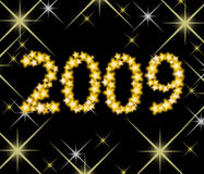 New year 2009. Vector illustration of new year 2009 Stock Photo