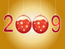 New year 2009. Vector illustration of new year 2009 Royalty Free Illustration