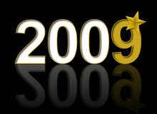 New Year 2009 Royalty Free Stock Image