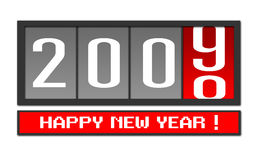 New Year 2009. Vector illustration of new year 2009 Stock Illustration