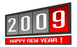 New Year 2009 Stock Images