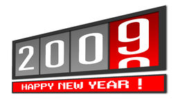 New Year 2009 Royalty Free Stock Photo