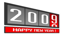 New Year 2009 Stock Photo