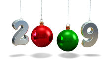 New Year 2009. 3d text new year 2009 Royalty Free Stock Photo