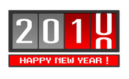 New year 2010. Vector illustration of new year 2009 Stock Photography