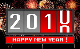 New year 2010 Stock Photos