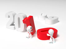New year 2010 Stock Image