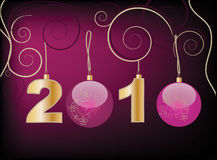 New Year 2010 Stock Photo