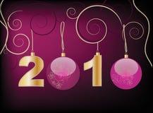 New Year 2010 Stock Photo