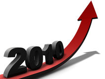 New Year 2010 Stock Photos