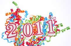 New Year 2011 Stock Photo