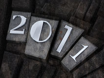 The new year 2011. Grunge computer generated image of the new year 2011 Royalty Free Stock Image