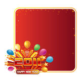 New year 2011. Vector illustration of new year 2011 Stock Images
