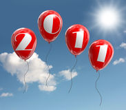 The new year 2011 Stock Image